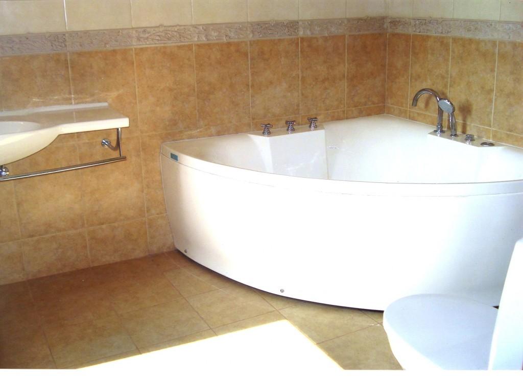 Ванная комната коттеджного дома