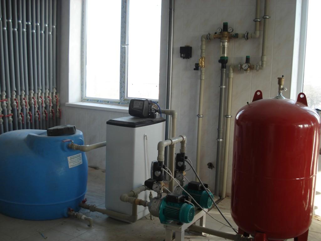Водоподготовка промышленной котельни (тех. станция).