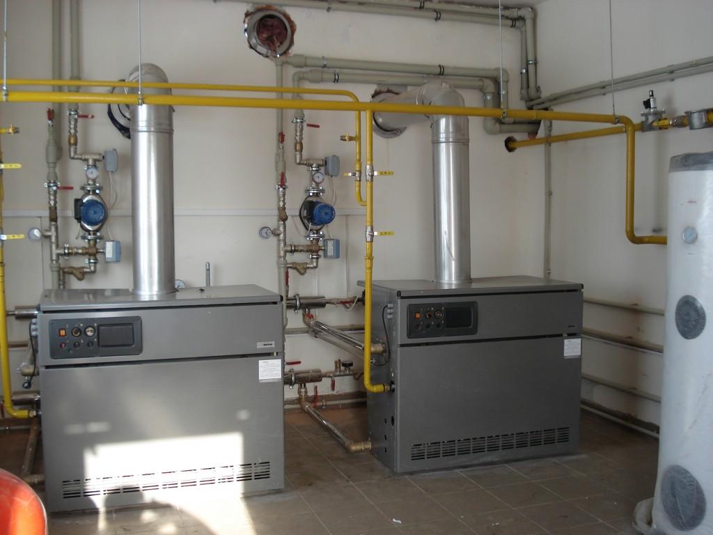 Топочная с управляемыми контурами, автоматикой «Siemens», завода по производству металлопластиковых окон «Аспект»